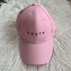 Pink YOUTH baseball hat